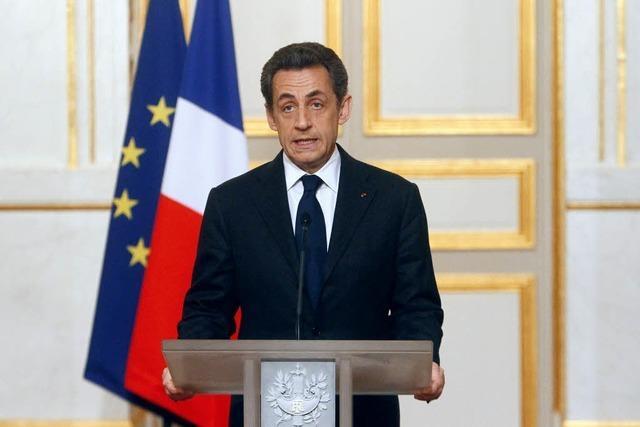 Sarkozy: Mörder von Toulouse ist identifiziert