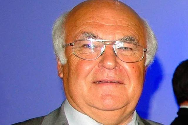 Martin Herrenknecht erhält den Prix Bartholdi