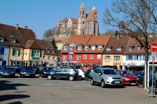Der Marktplatz in Breisach soll schöner werden