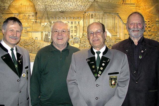 Egon Dietsche geht als Vereinsvorsitzender ins 35. Jahr