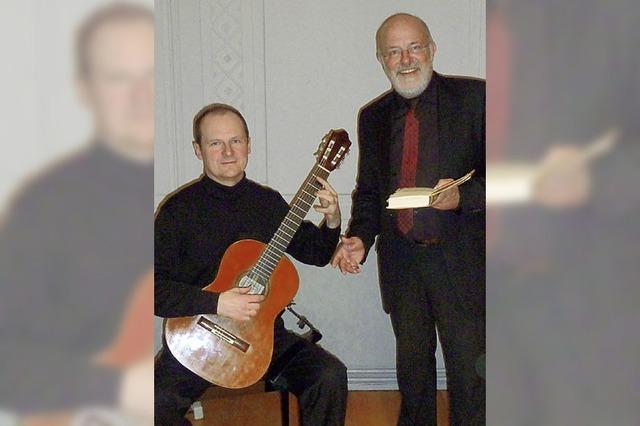 Andalusische Elegie für Erzähler und Gitarre