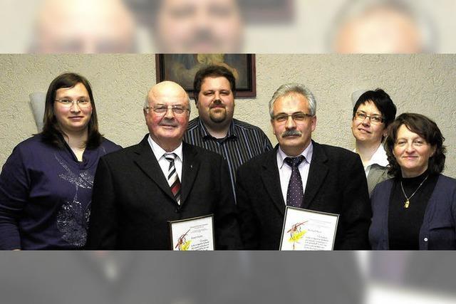 Katholischer Kirchenchor Oberweier hat mehrere personelle Veränderungen hinter sich
