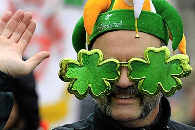 Der Herr der Flöte bläst eine irische Brise