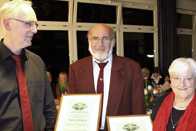 Werner Schenk jetzt Ehrendirigent