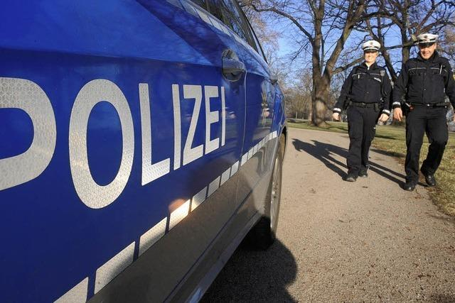 Werben für die Polizeireform
