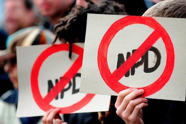 Rasches Verbot der NPD unwahrscheinlich