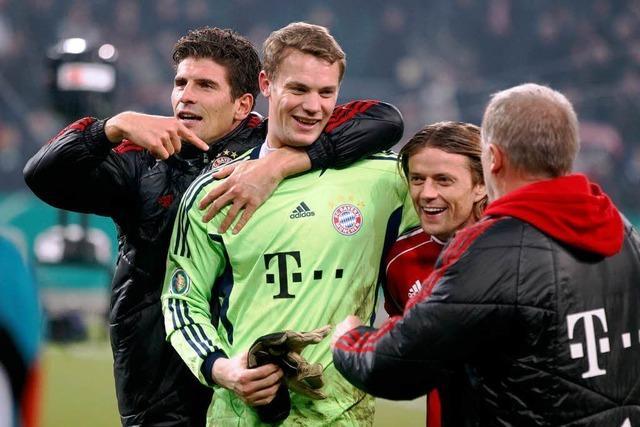 Bayern München im Pokalfinale – Sieg im Elfmeterschießen