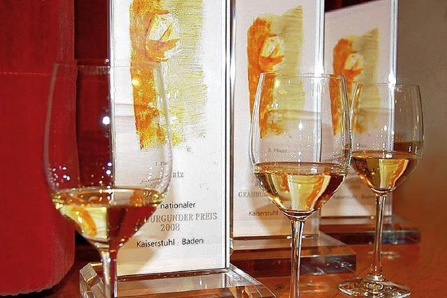 Ausschreibung für Grauburgunderpreis 2012 läuft