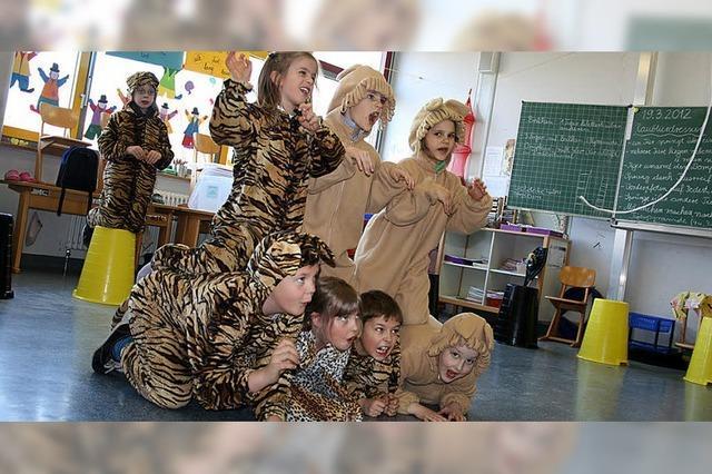 Landeck-Schule macht Zweitklässler zu Zirkusartisten