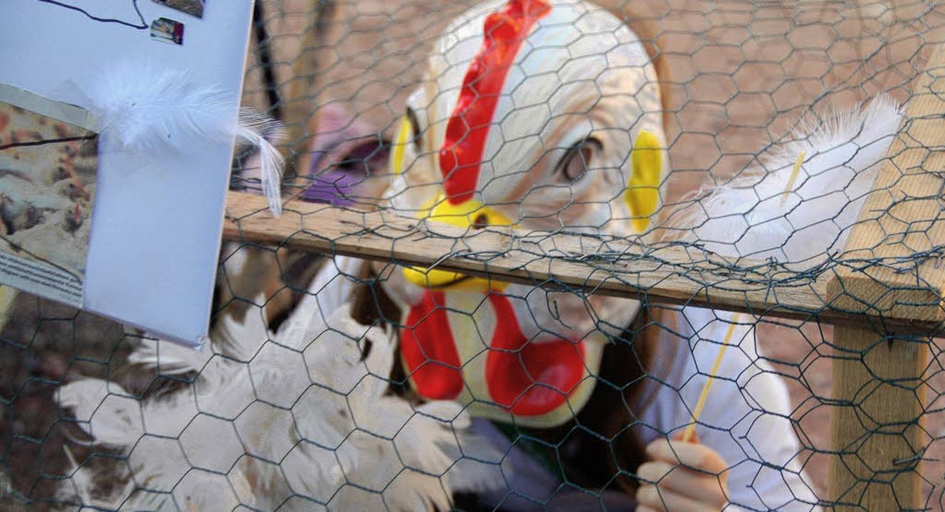 Großes Hasenjagen im Strohballen war b...eins erfreuen sich großer Beliebtheit.  | Foto: Pia Grättinger