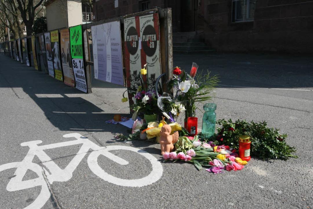 Fahrrad, LKW, Kind, Eschholzstraße,  | Foto: Rita Eggstein