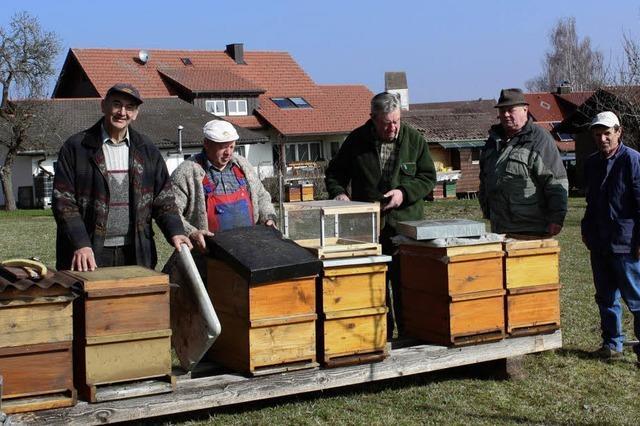 Das Bienenheim wird umgebaut