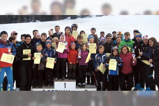 Mit den Vereinsmeisterschaften beendet die Skizunft Bernau die Wintersaison