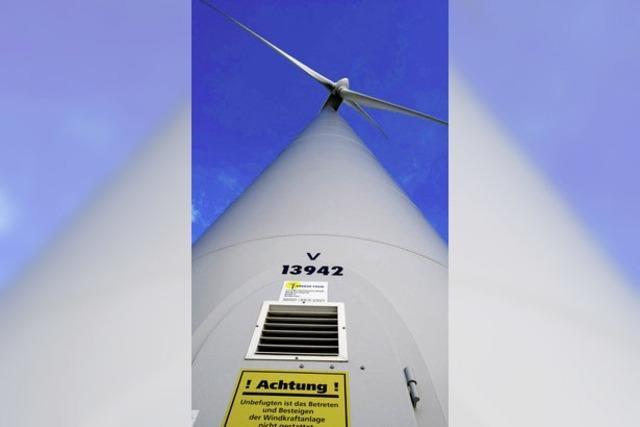 Windkraft: Da waren es nur noch drei