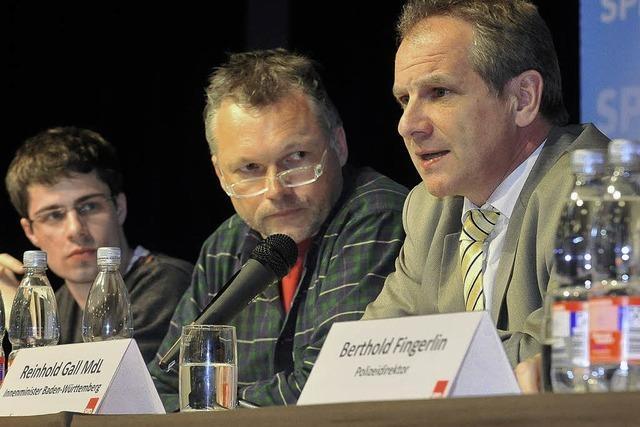 Neue Debatte um Alkoholverbote – Diskussion mit Gall in Freiburg