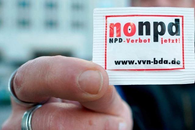 Einigung: NPD-Spitzel werden abgezogen