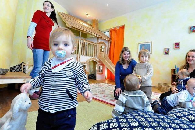 Netzwerk will Qualität von Kinderkrippen steigern