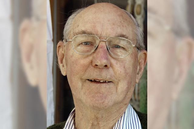 Der Kuhbacher Franz Kramaska feiert 85. Geburtstag