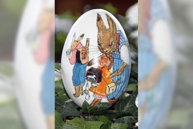 Handbemalte Unikate als Geschenk zu Ostern