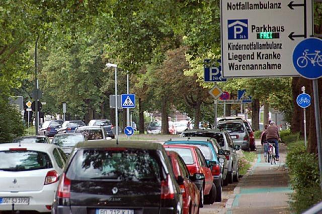 Freie Parkplätze für Anwohner in Nordost