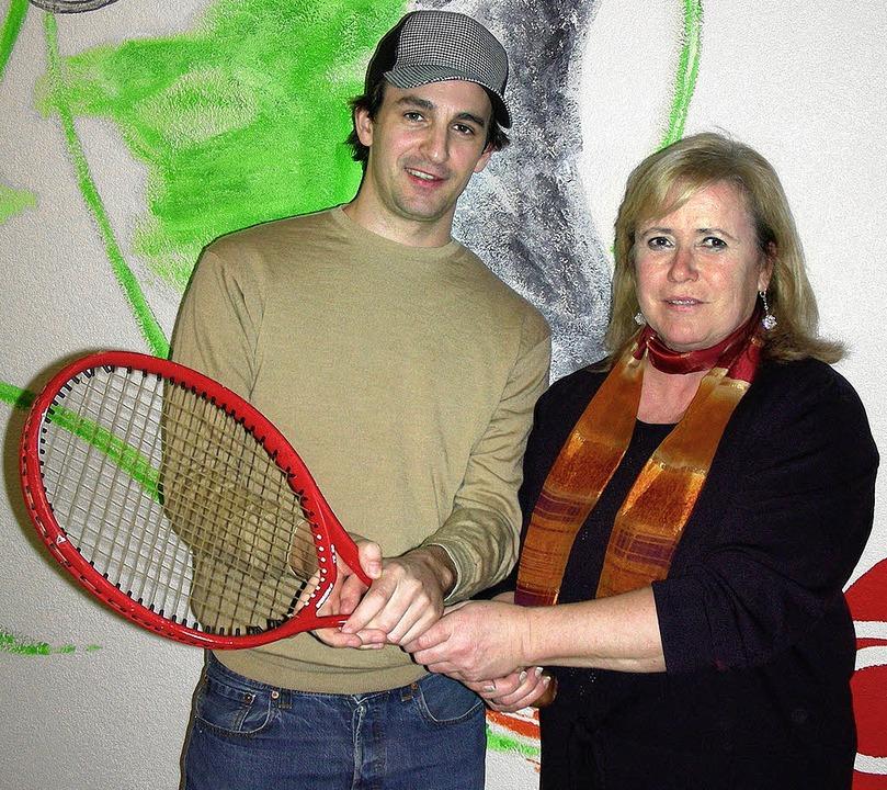 Uwe Riegger übernimmt das Amt des Spor...Anna Band beim Tennisclub Gottenheim.   | Foto: mario schöneberg
