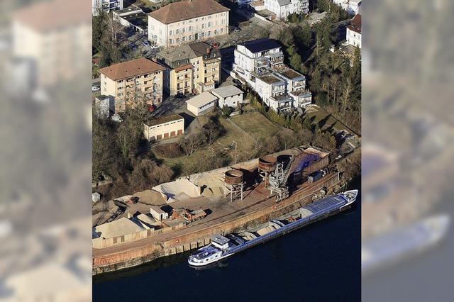 Rheinhafen bleibt ein Ankerplatz