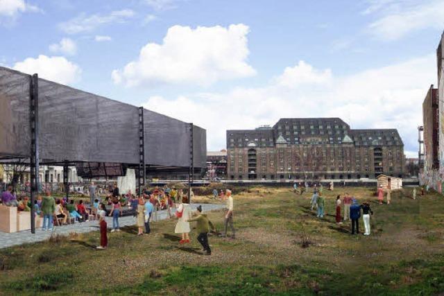 Kreuzberger Protest gegen Denkfabrik