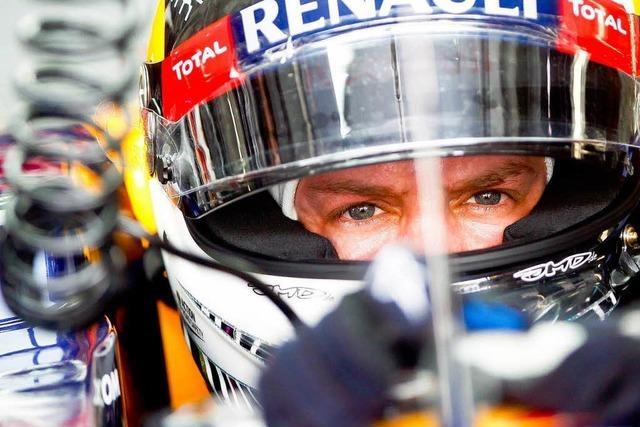 Vettels Suche: Auch in Malaysia nicht der Schnellste
