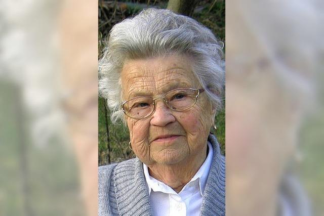 Hilde Willmann feierte ihren 90. Geburtstag