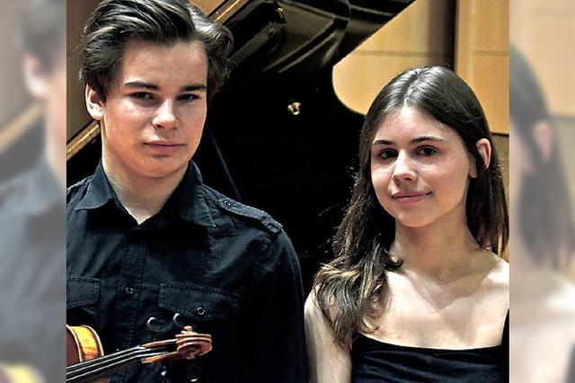 Erste und zweite Preise für junge Musiker