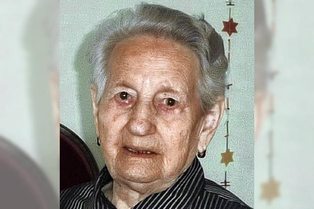 Irmgard Raddatz 90