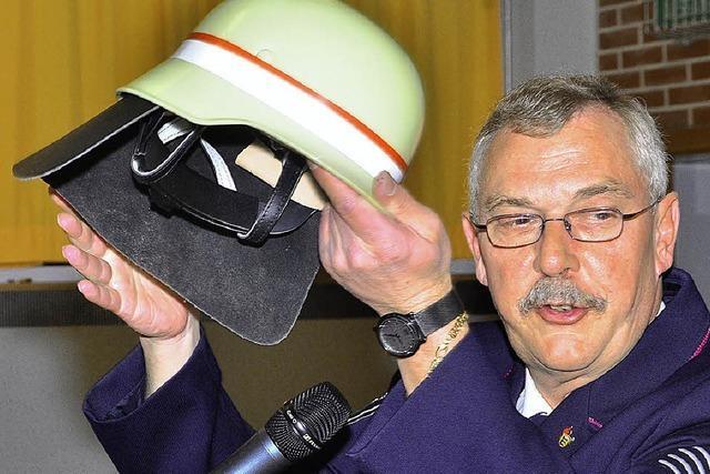 Karlo Rieth ist Ehrenkommandant der Gesamtwehr