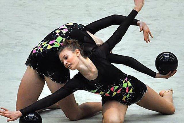 Erfolgreiche Gymnastinnen
