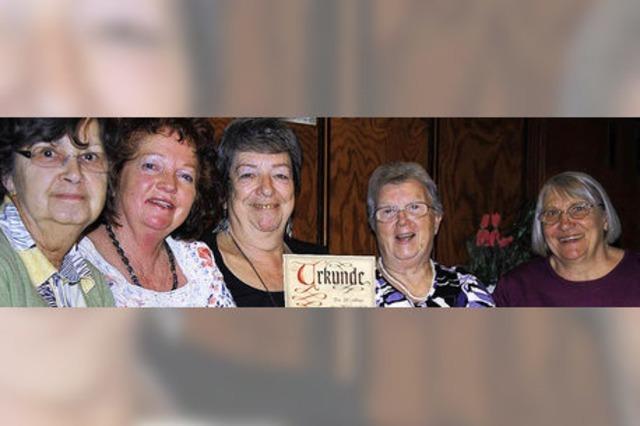 Wallbacher Frauen sind stets sozial engagiert