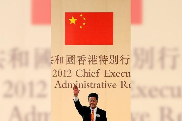 Der pekingnahe Leung Chun-ying wird Regierungschef