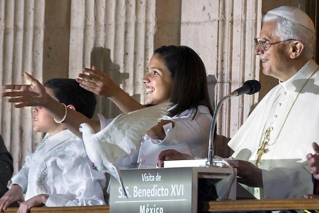 Papst ist über Gewalt in Mexiko besorgt