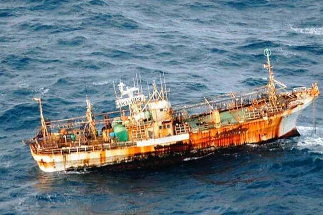Geisterschiff vor Kanada – 8000 Kilometer allein unterwegs