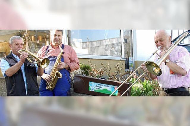 Blasmusik, Jazz, Folk und Rock beim Frühlingsfest