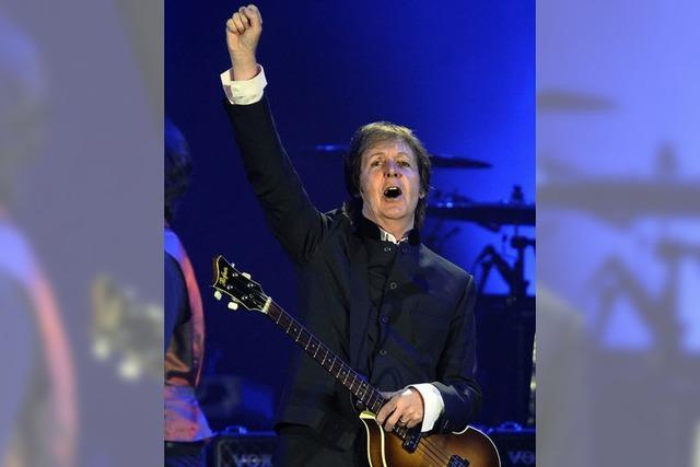 Opulente Werkschau: Paul McCartney begeistert in Zürich