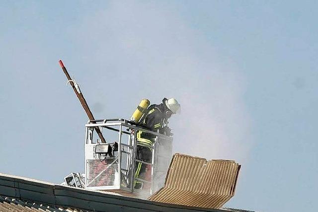 Kunstdünger in Friesenheim hat gebrannt