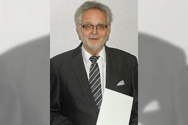 Staufermedaille würdigt Eberhard Hirschbolz