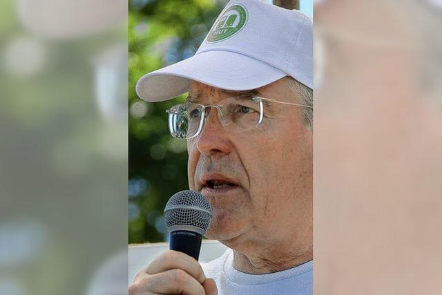 Bürgerprotest par excellence: Roland Diehl und die MUT