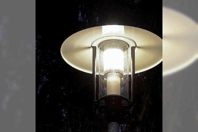 Stromsparlampen rund um die Nacht
