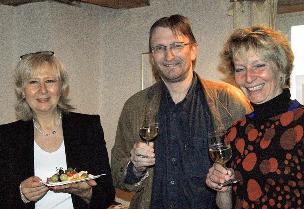Freuen sich über einen rundum gelungen...d Lay und Martina Frank (von links).    | Foto: Maria Schlageter