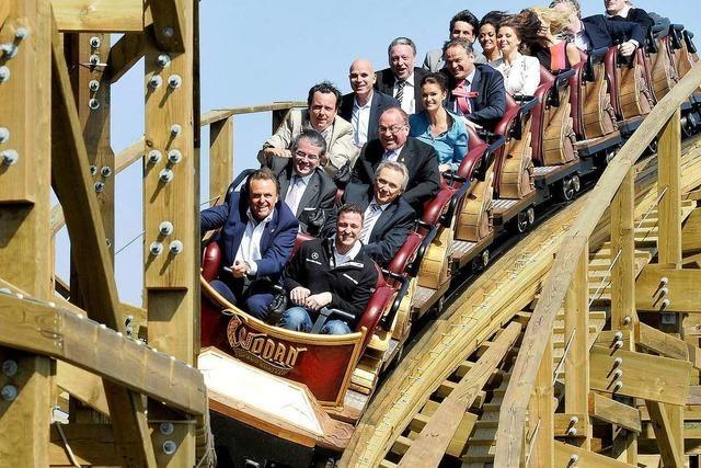 Europa-Park präsentiert neue Holzachterbahn