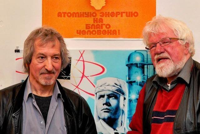 Tschernobyl-Ausstellung im Blauen Haus