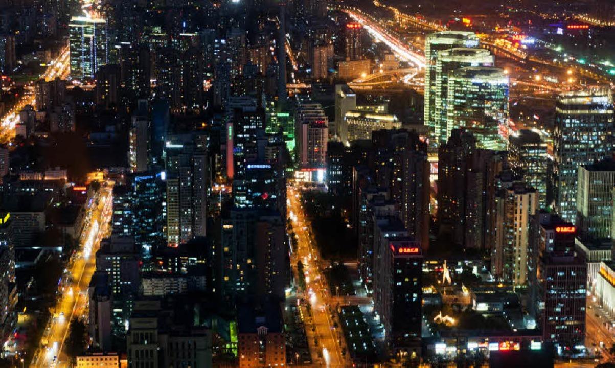 Gute Stadtplanung ist – wenn man... bedacht hat: Megalopolis bei Nacht     | Foto: Ullstein/Thomas Kunz