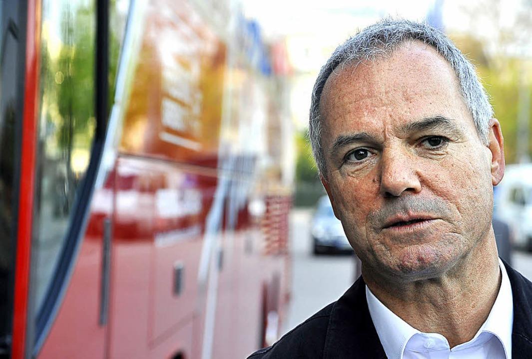 Hans-Peter Christoph geht mal wieder auf große Fahrt  | Foto: Kunz