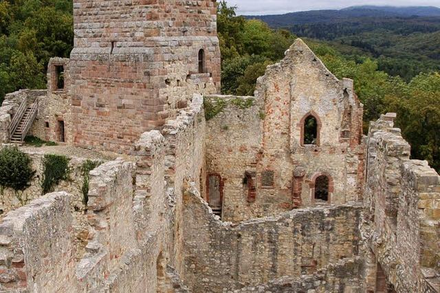 Burgen, Schlösser und Ruinen in der Region