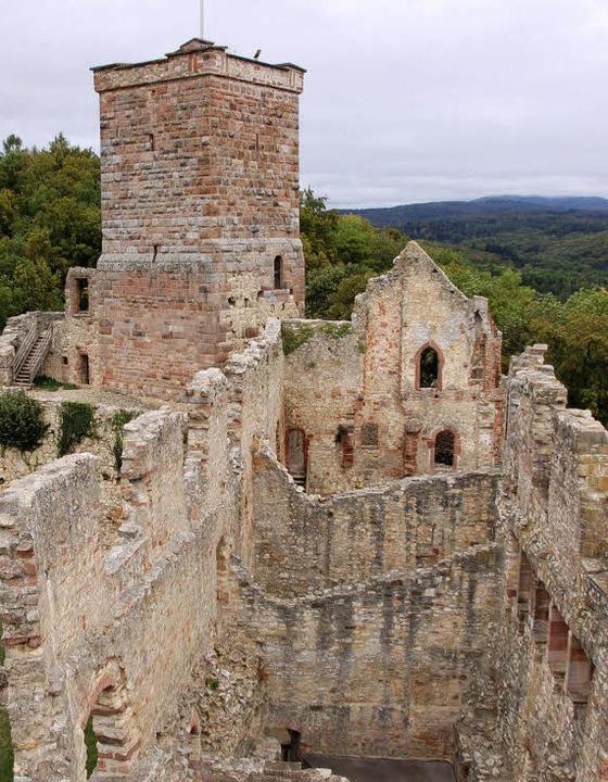 Die Burgruine  Rötteln   | Foto: Trenz